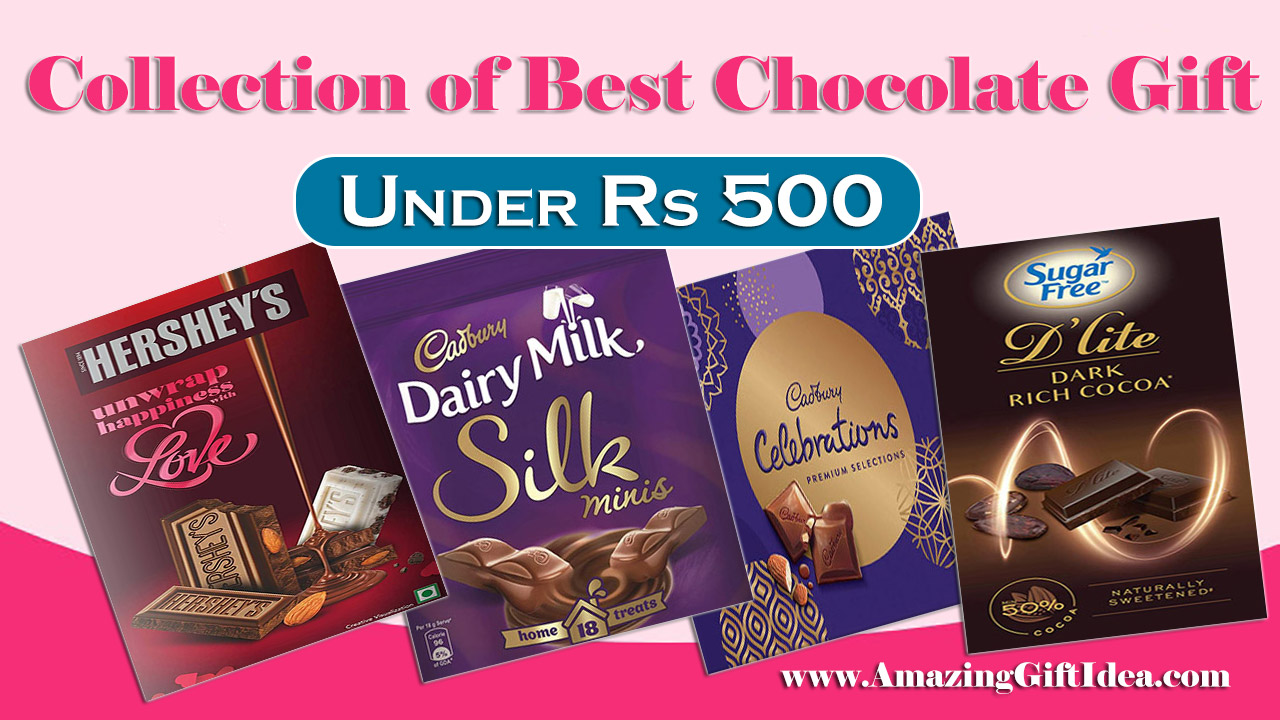 Collection of Best Chocolate Gifts under Rs 500 for your family and friends on this festival occasion from AmazingGiftIdea.com